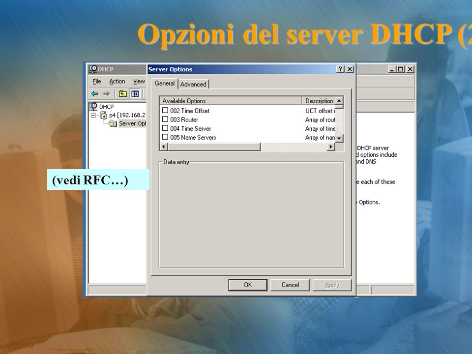 Opzioni del server DHCP (2)