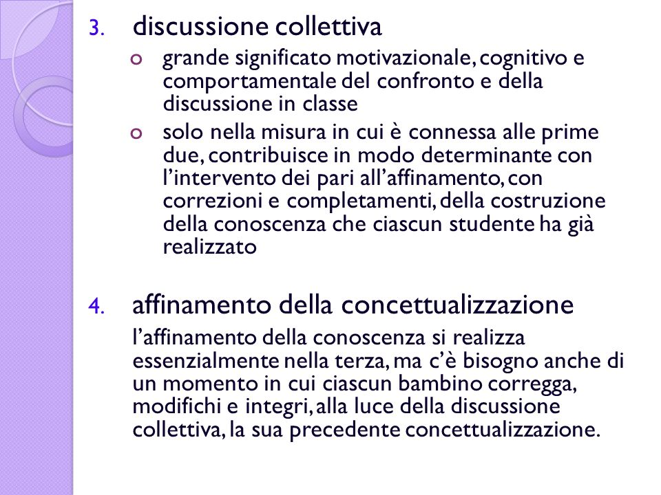 discussione collettiva