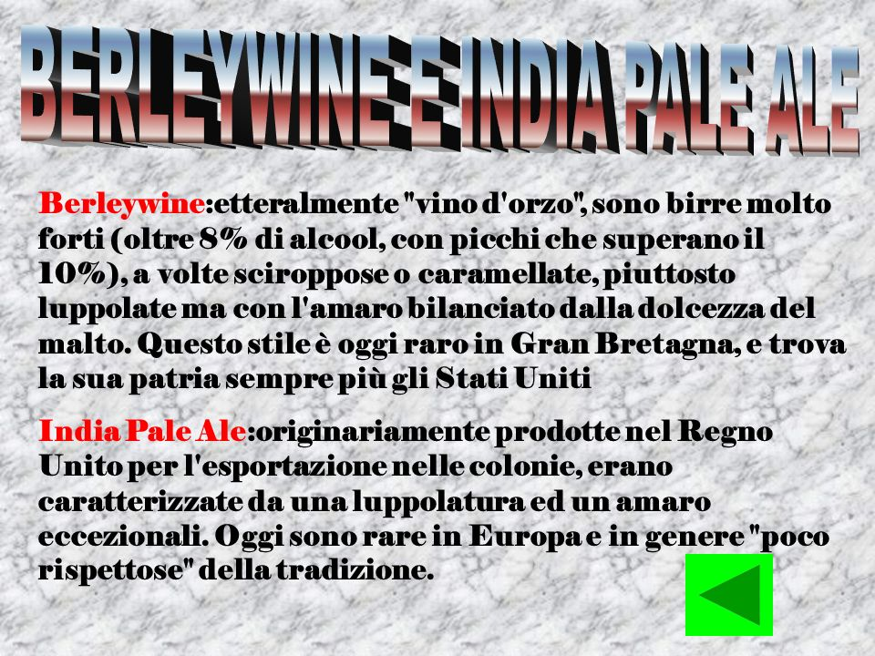 BERLEYWINE E INDIA PALE ALE