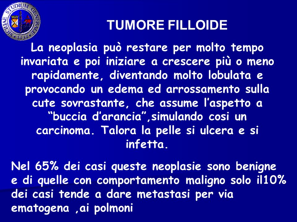 TUMORE FILLOIDE