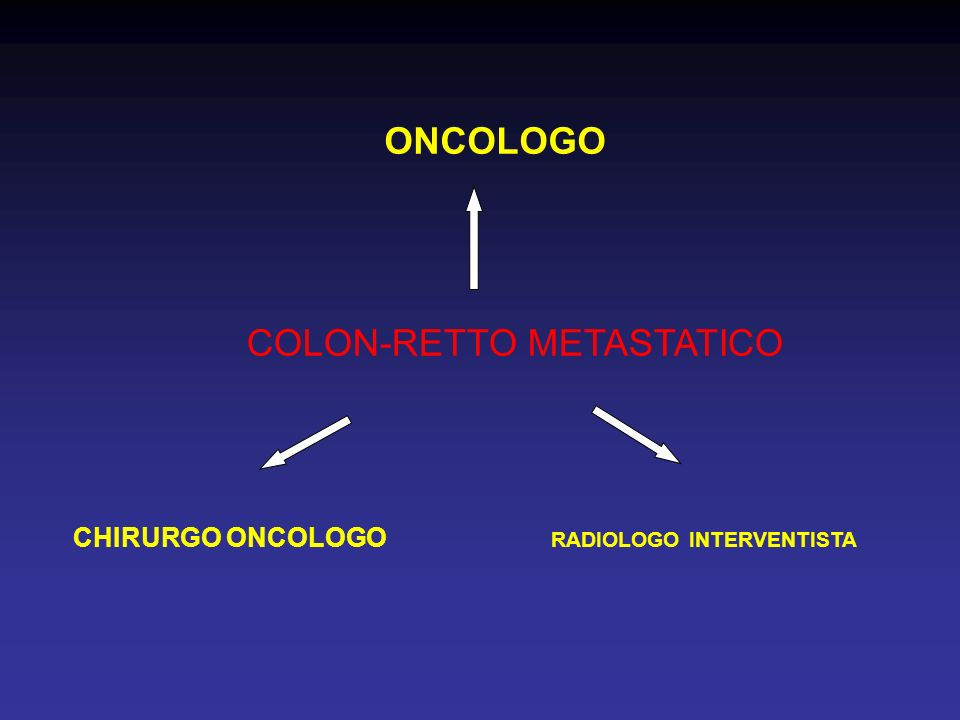 COLON-RETTO METASTATICO
