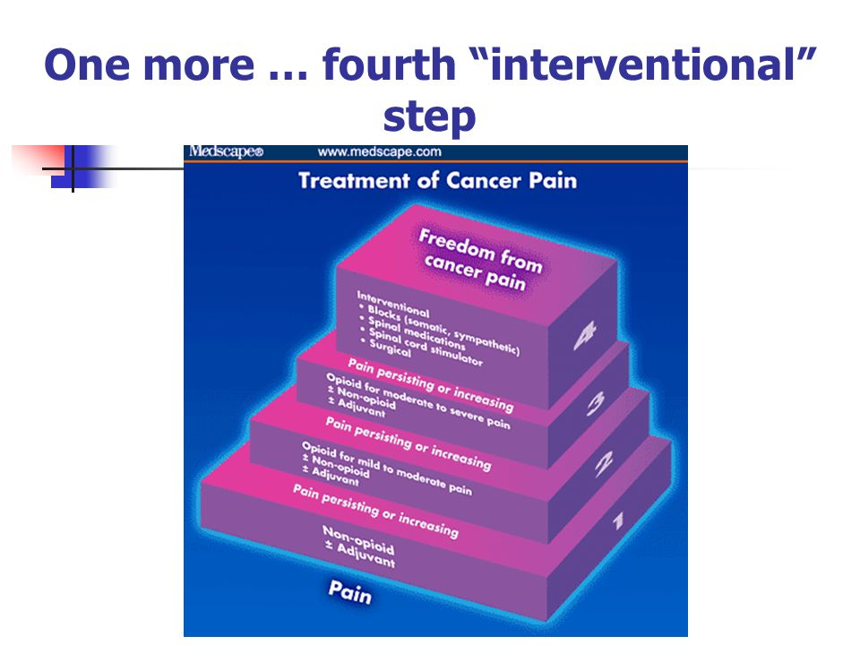 One more … fourth interventional step