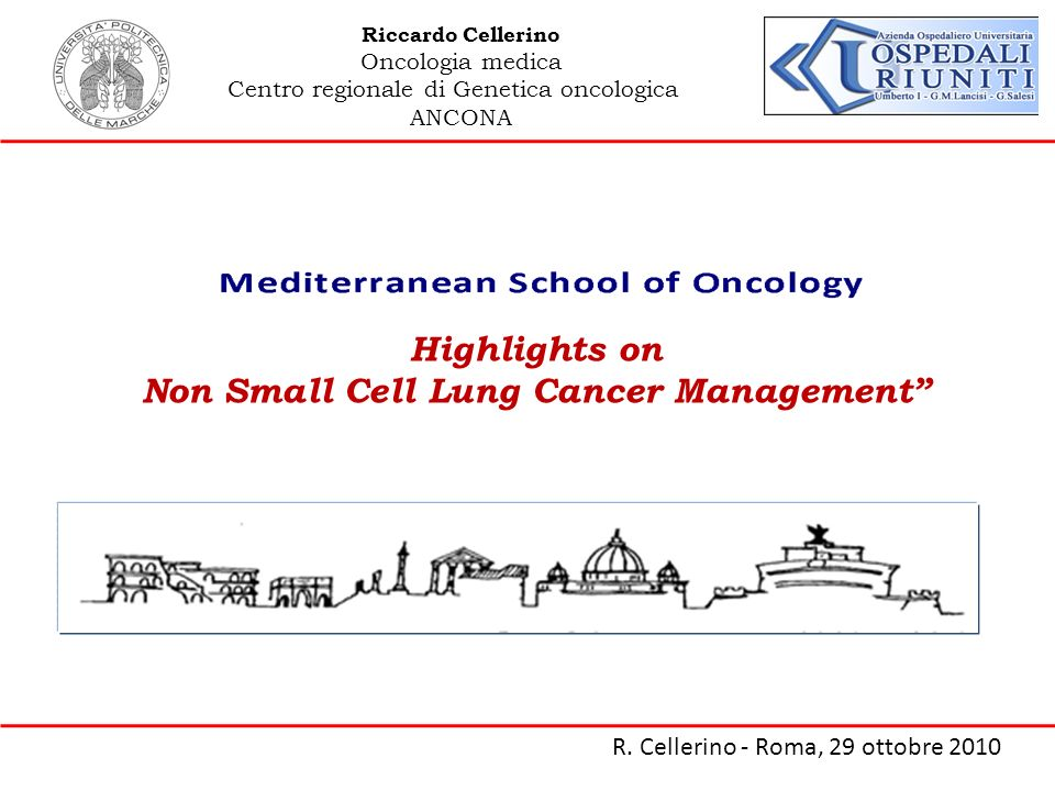 Non Small Cell Lung Cancer Management