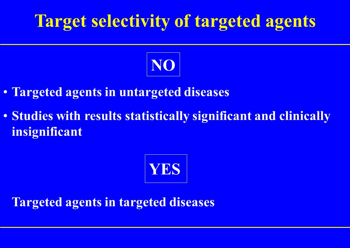 Target selectivity of targeted agents