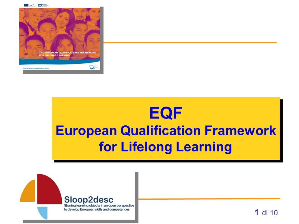 EQF European Qualification Framework for Lifelong Learning
