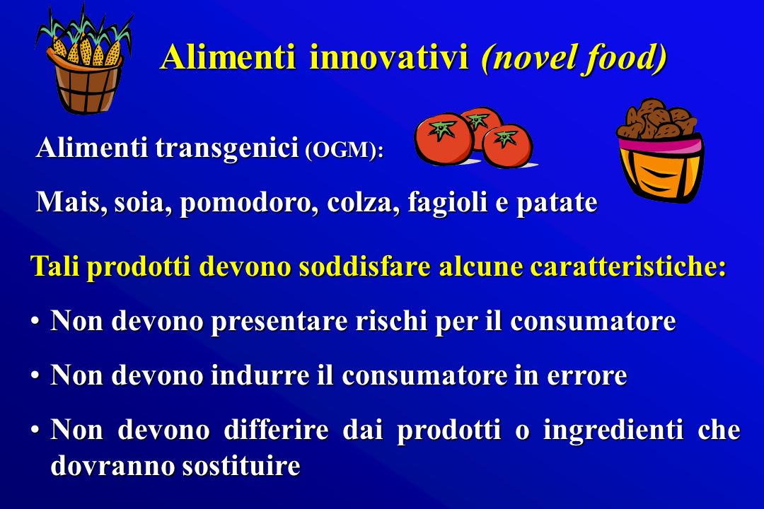 Alimenti innovativi (novel food)