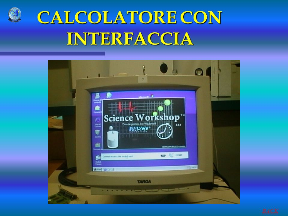 CALCOLATORE CON INTERFACCIA