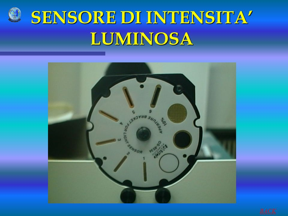 SENSORE DI INTENSITA' LUMINOSA