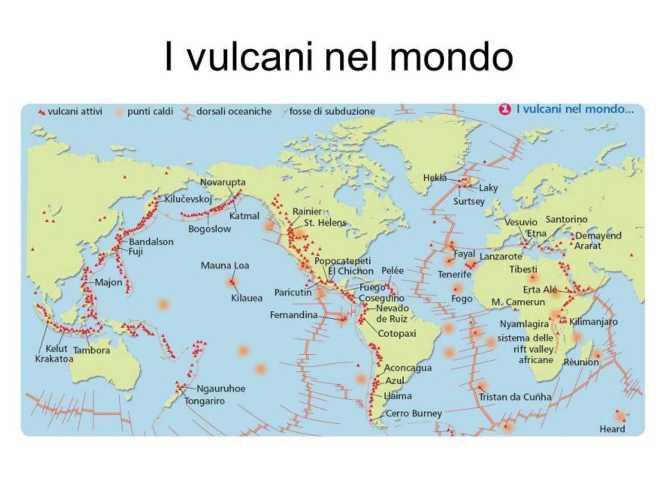 Cartina Vulcani Nel Mondo.Vulcani E Terremoti Che Cos E Un Vulcano Ppt Video Online Scaricare