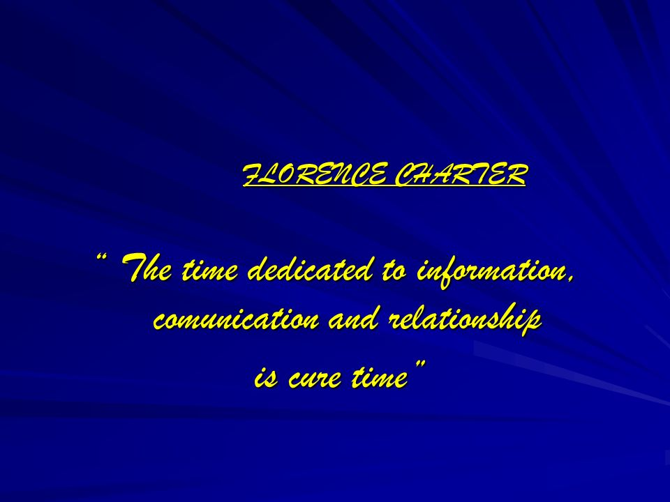The time dedicated to information, comunication and relationship