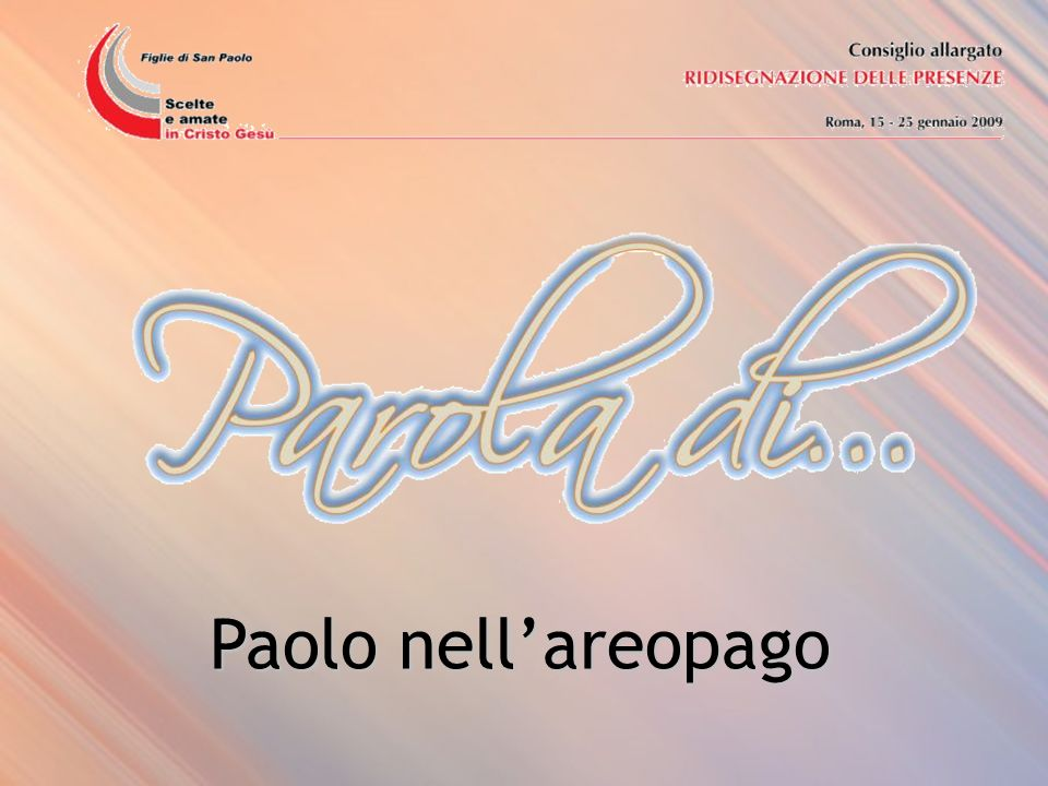 Paolo nell'areopago