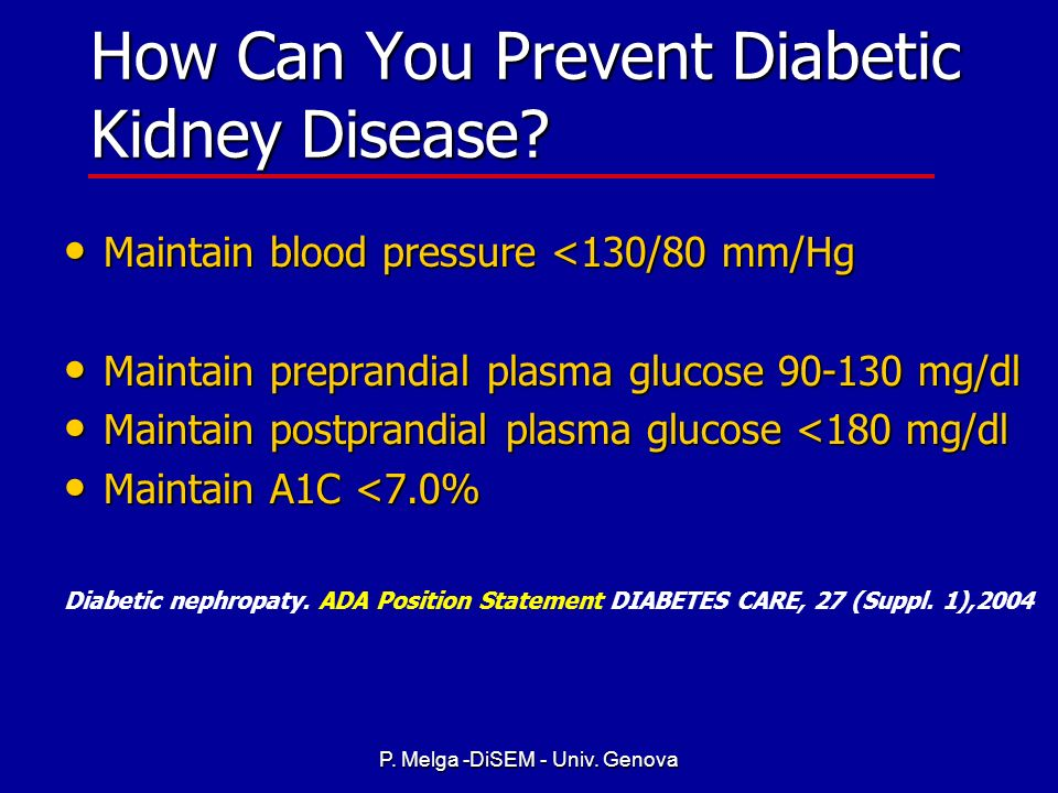 How Can You Prevent Diabetic Kidney Disease