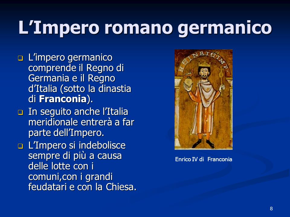 L'Impero romano germanico