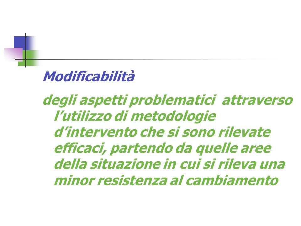 Modificabilità