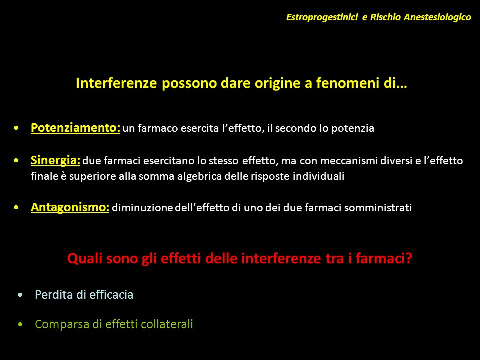 Interferenze possono dare origine a fenomeni di…