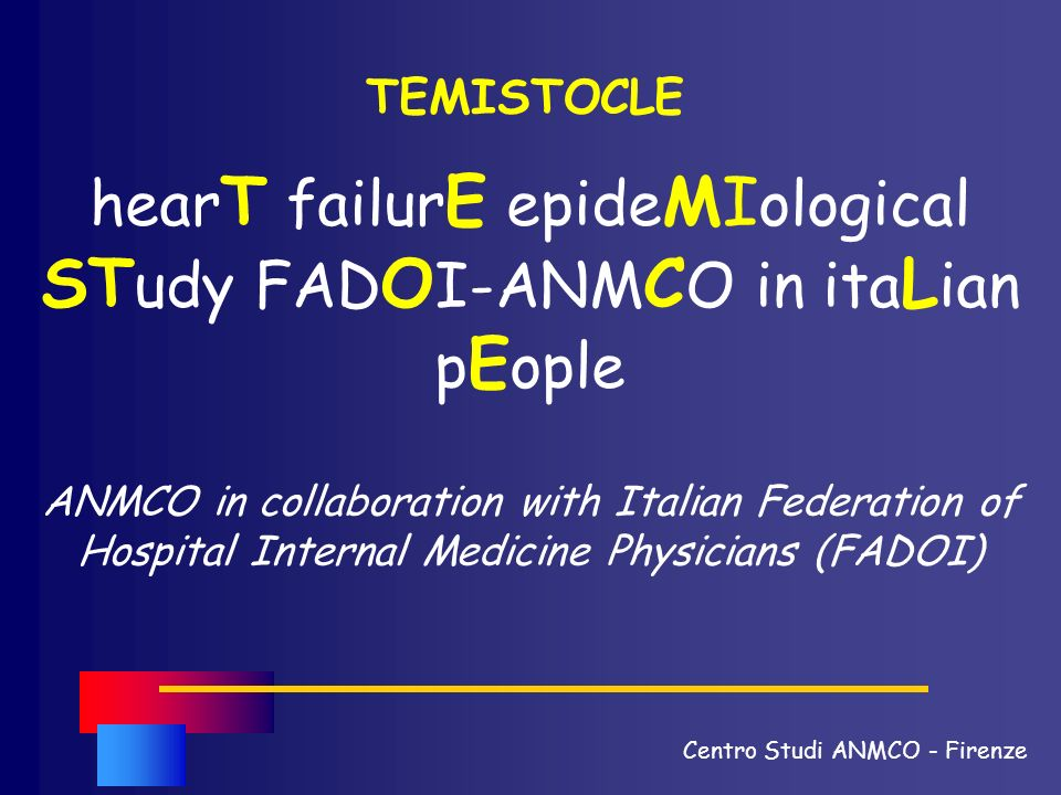 hearT failurE epideMIological STudy FADOI-ANMCO in itaLian pEople