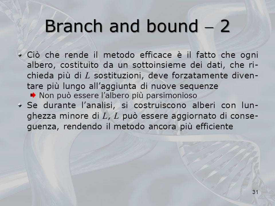 Branch and bound  2
