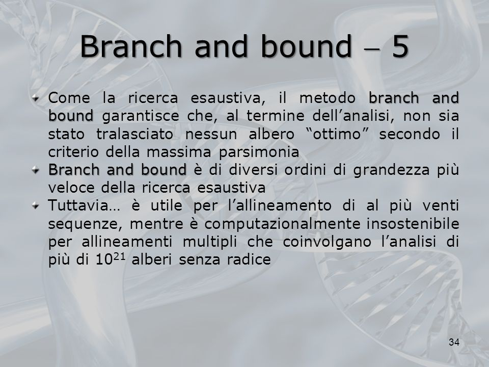Branch and bound  5