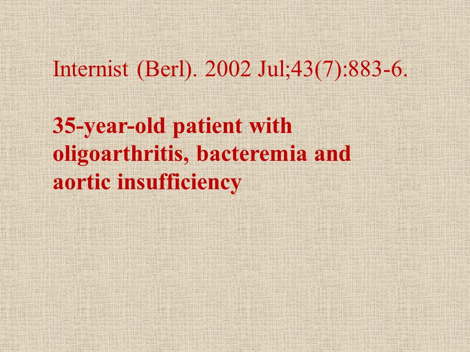 Internist (Berl). 2002 Jul;43(7):883-6.