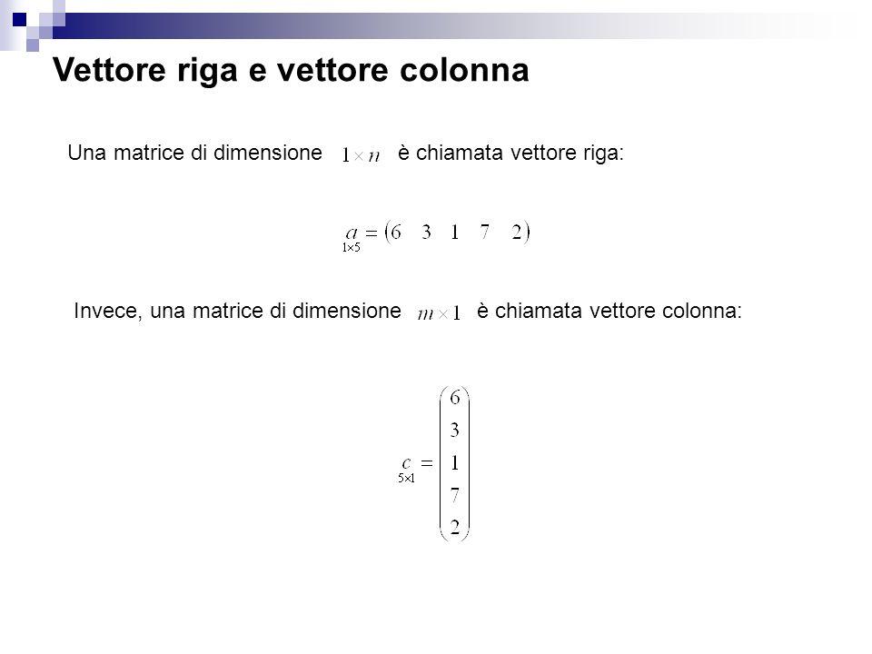 Prodotto Riga Per Colonna.Algebra Delle Matrici Ppt Video Online Scaricare
