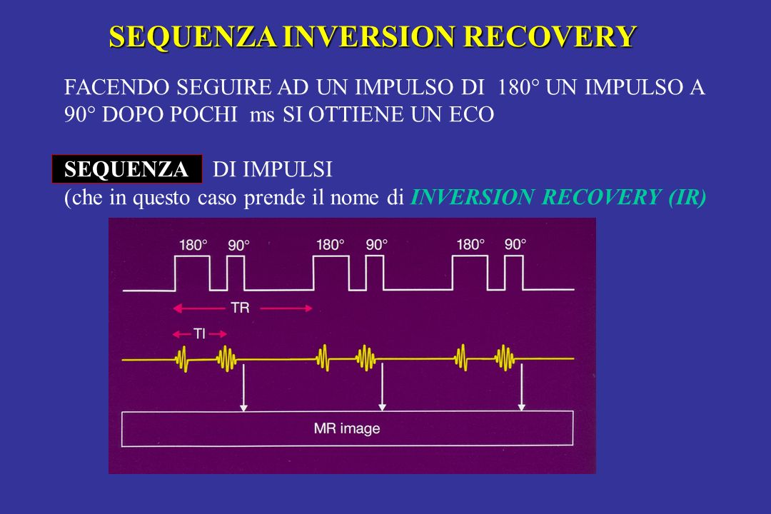 SEQUENZA INVERSION RECOVERY