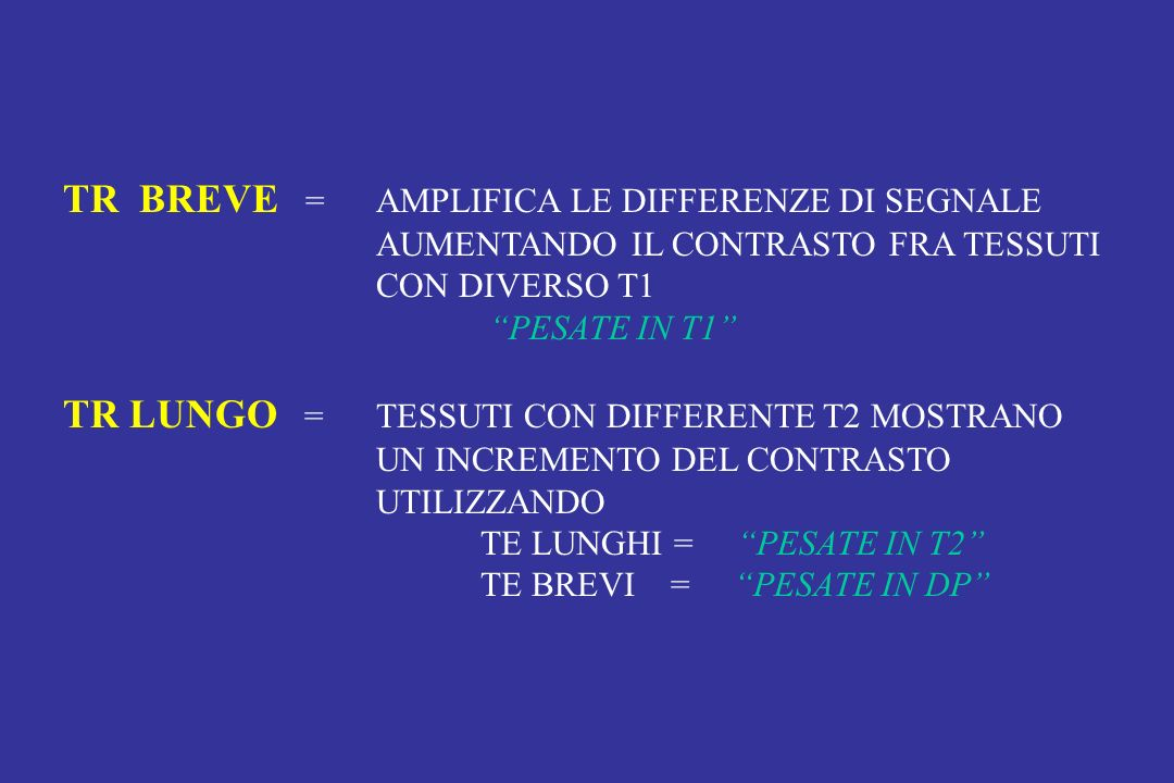 TR BREVE = AMPLIFICA LE DIFFERENZE DI SEGNALE