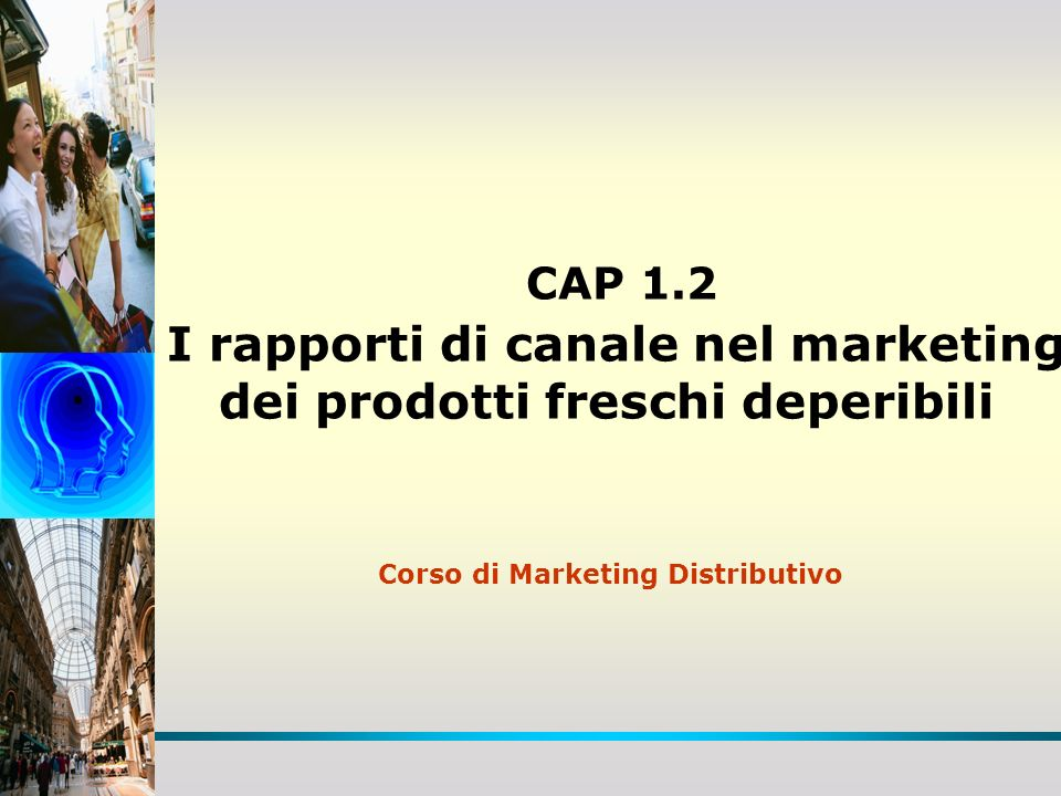 Corso di Marketing Distributivo