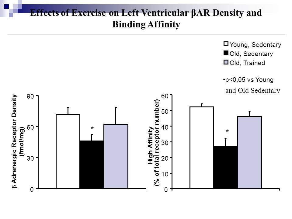 Effects of Exercise on Left Ventricular βAR Density and Binding Affinity