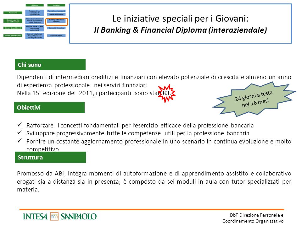 Il Banking & Financial Diploma (interaziendale)