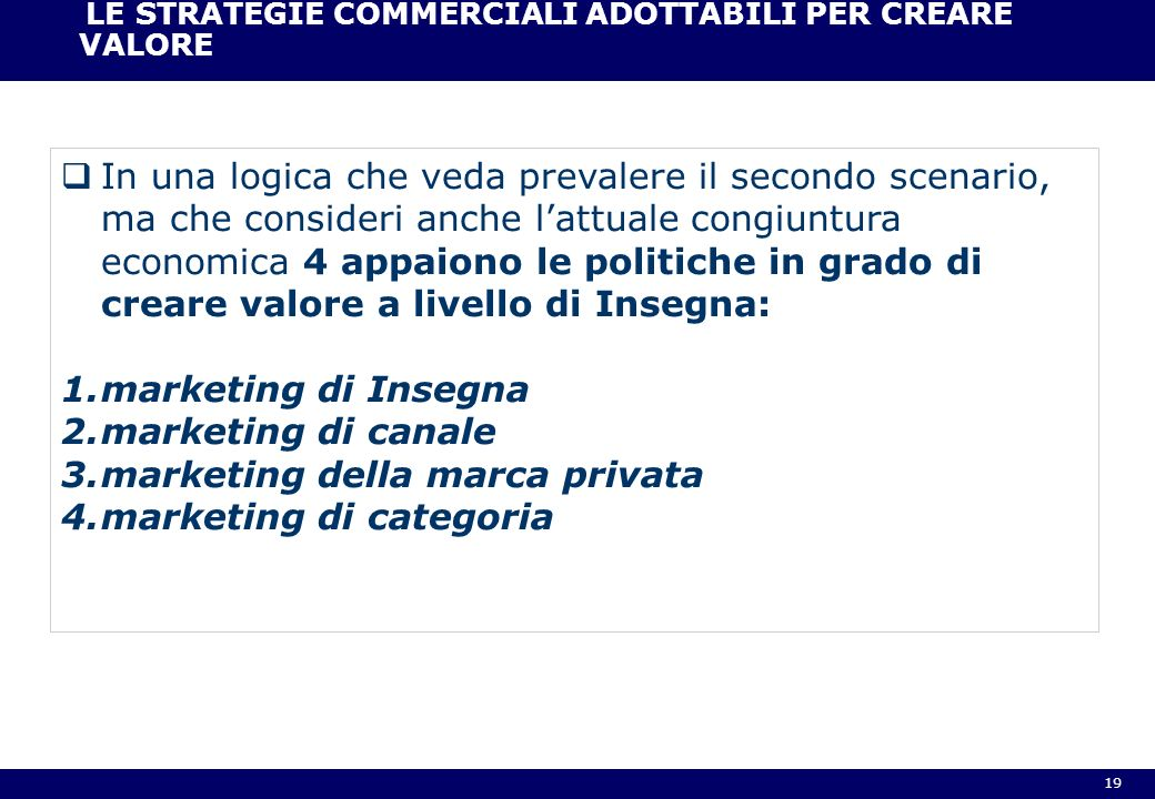 marketing della marca privata marketing di categoria