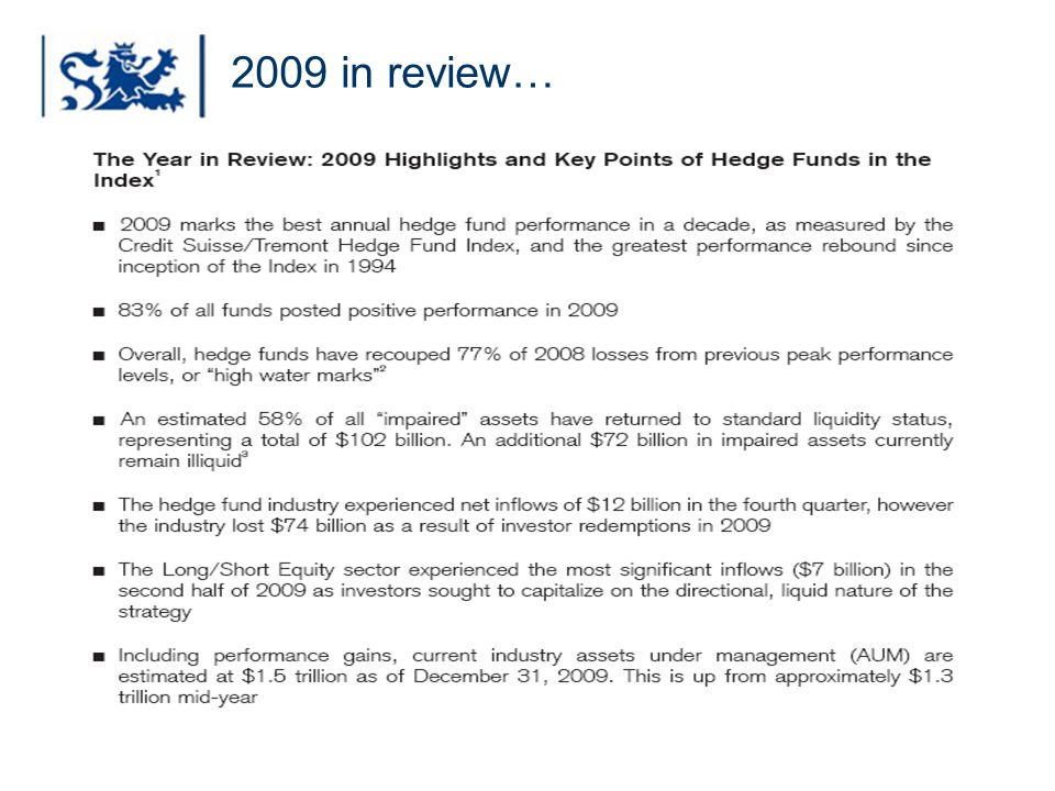 2009 in review…