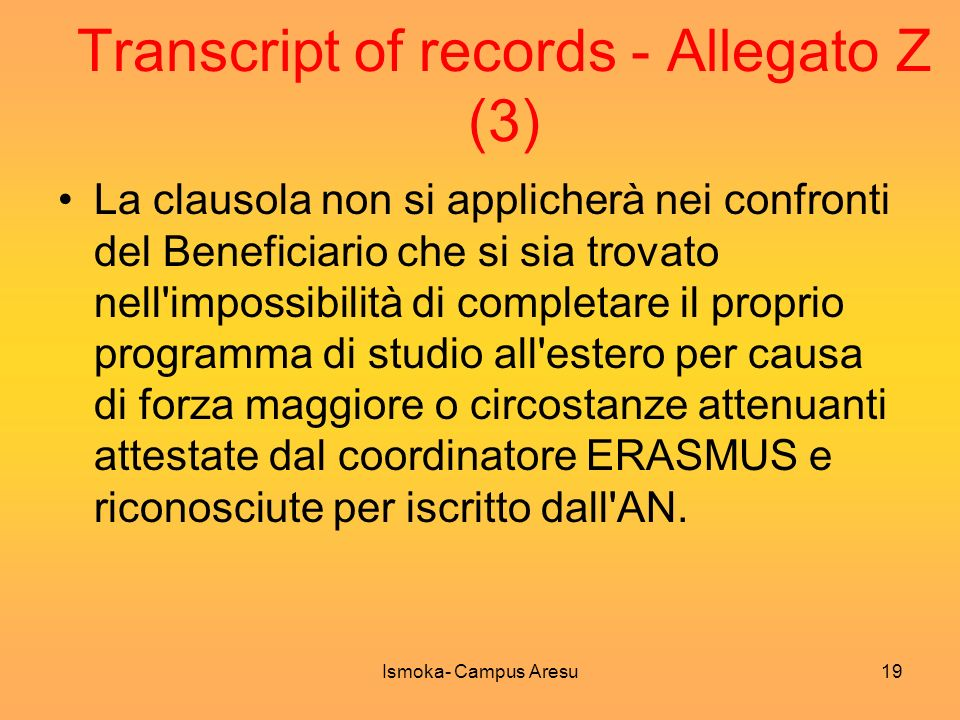 Transcript of records - Allegato Z (3)