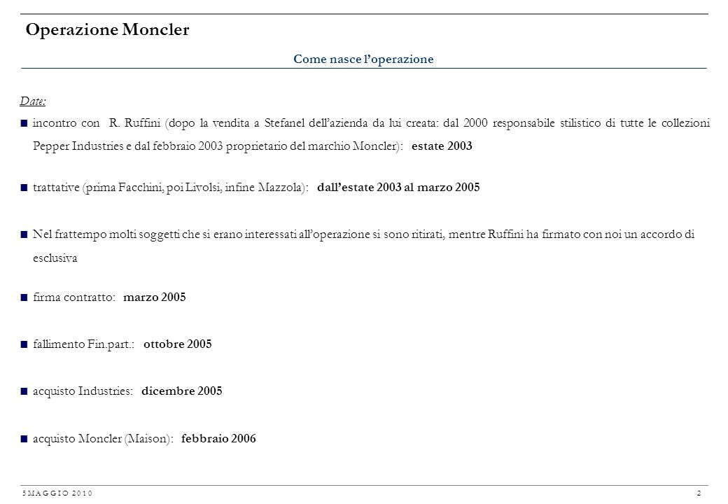 gruppo moncler industries