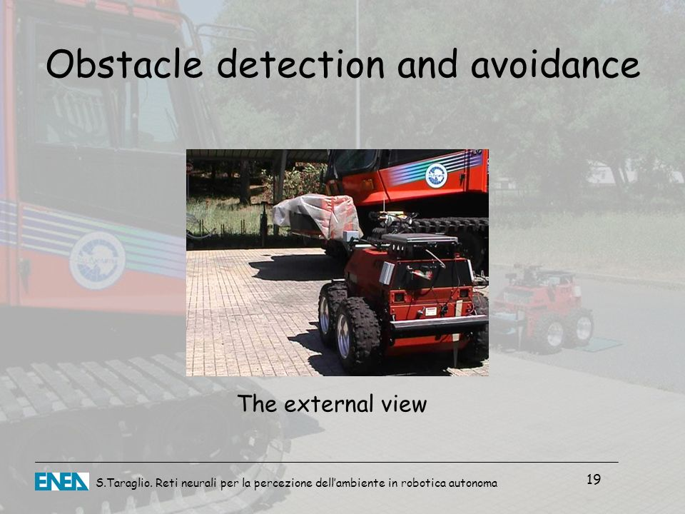 Obstacle detection and avoidance