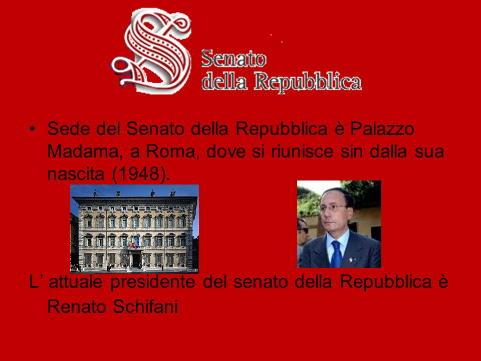 Organi costituzionali ppt video online scaricare for Senato della repubblica