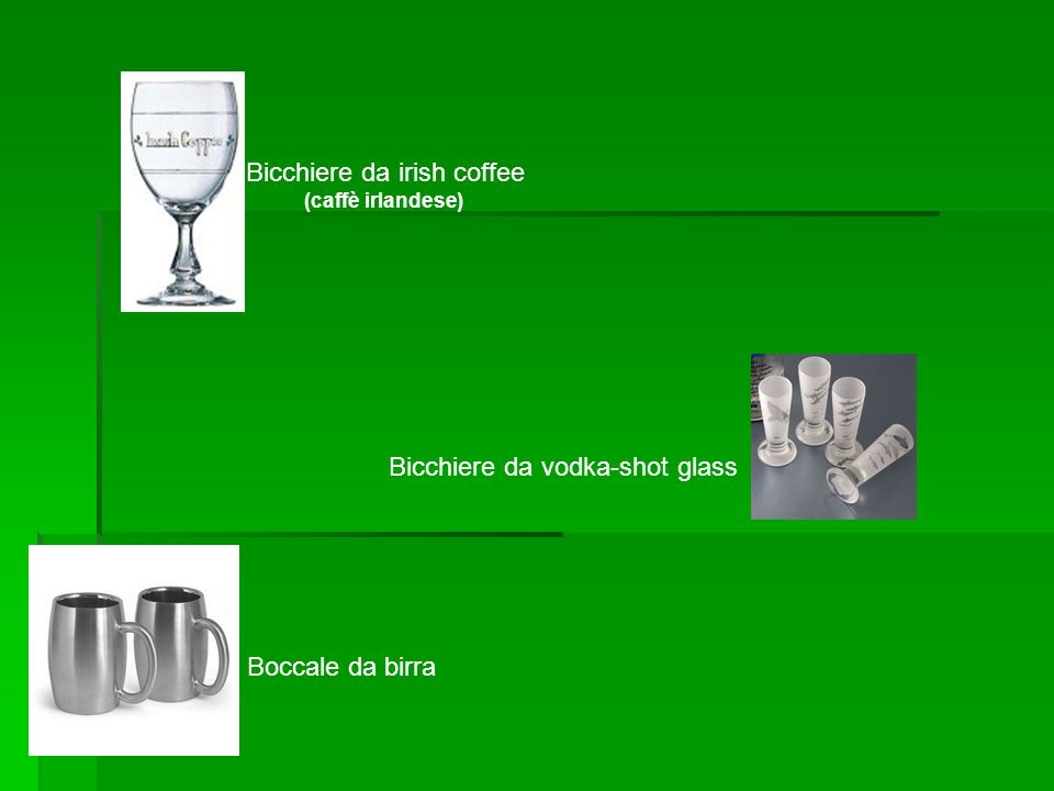 Bicchiere da irish coffee