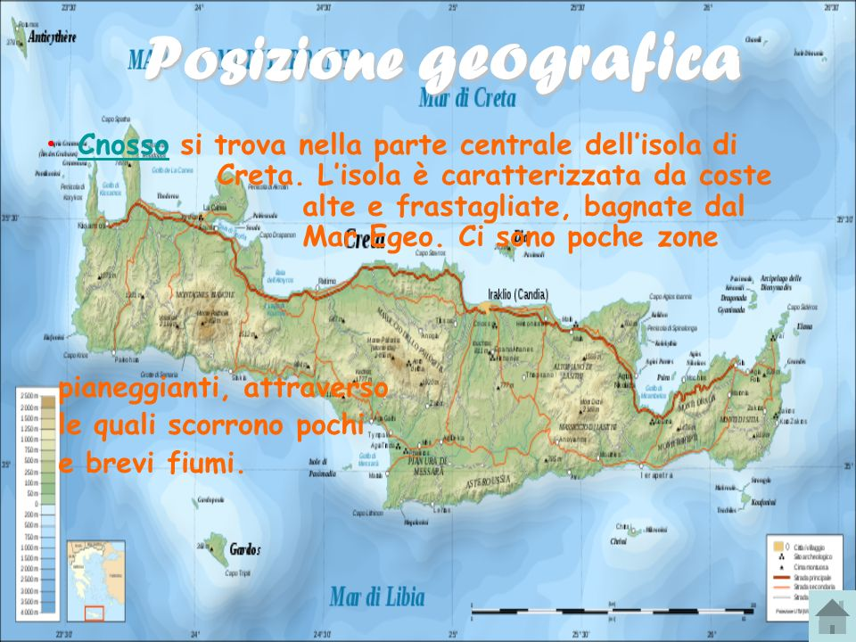 Cartina Geografica Dell Isola Di Creta.Cnosso Ppt Scaricare
