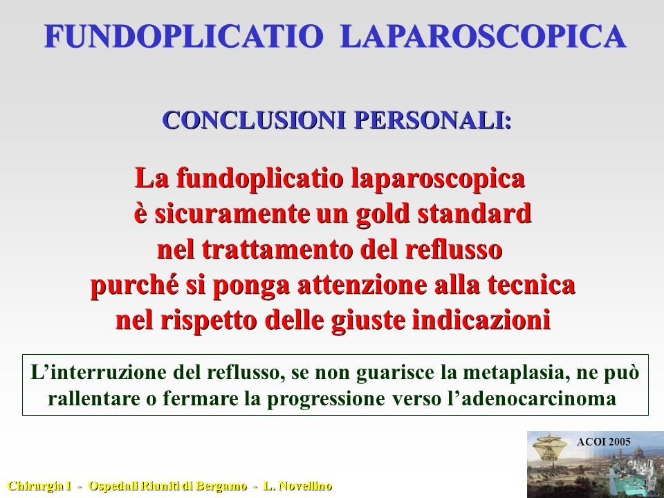 FUNDOPLICATIO LAPAROSCOPICA