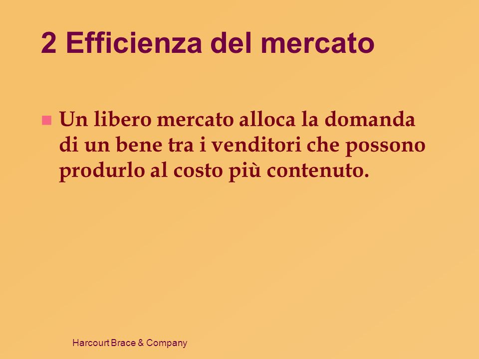 2 Efficienza del mercato