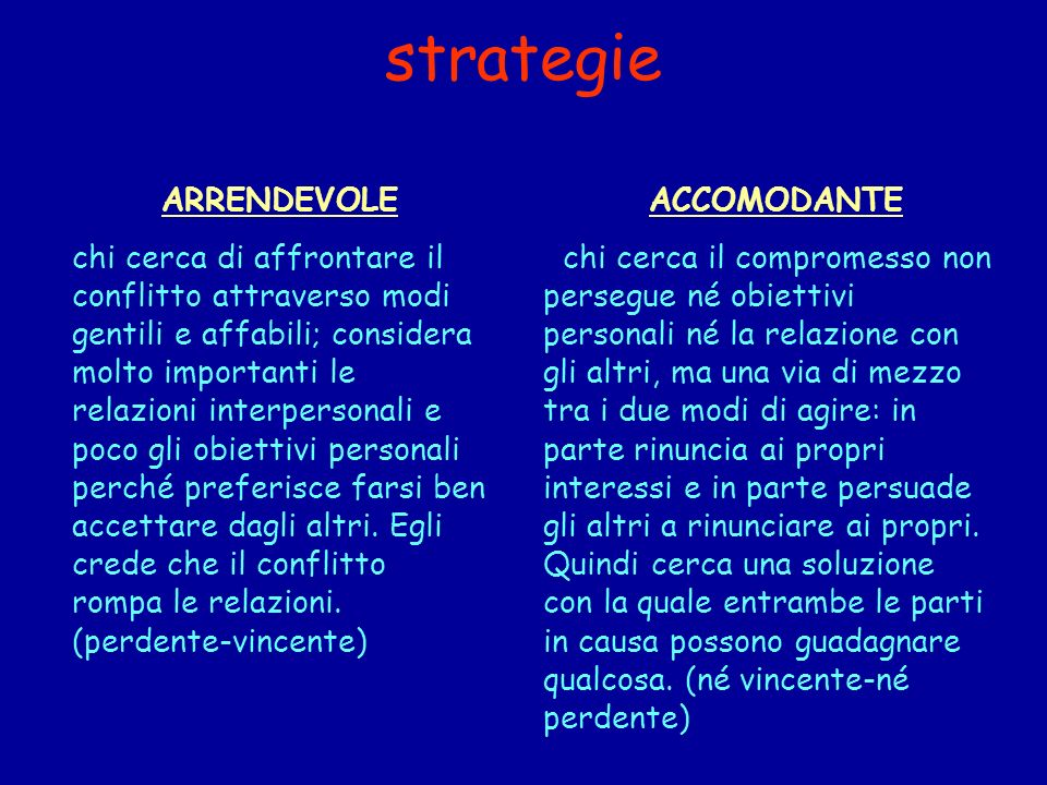 strategie ARRENDEVOLE