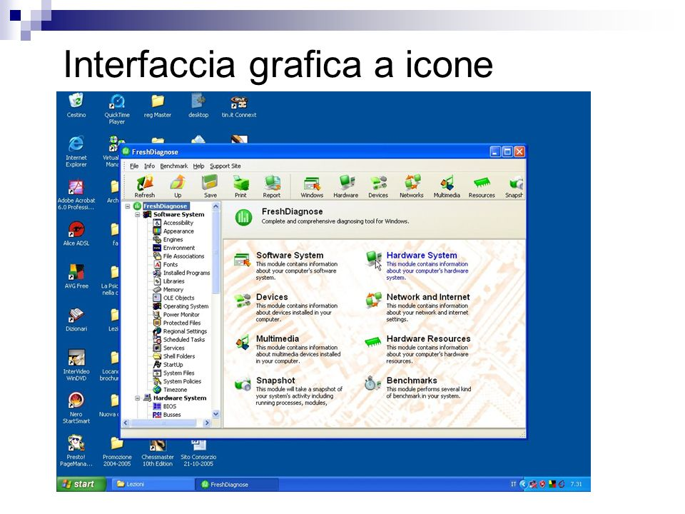 Interfaccia grafica a icone