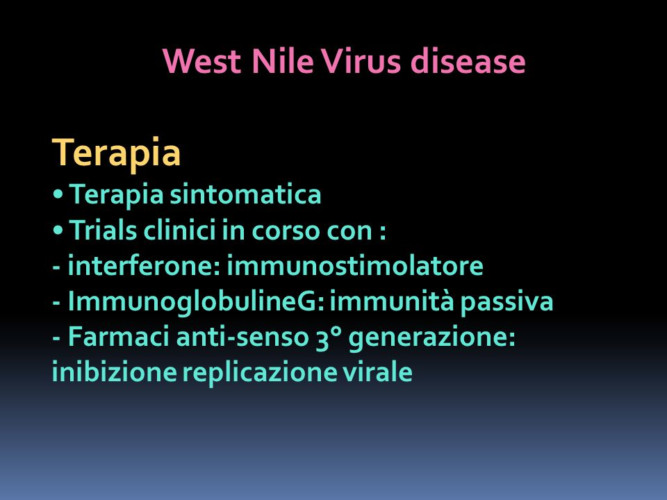 West Nile Virus disease