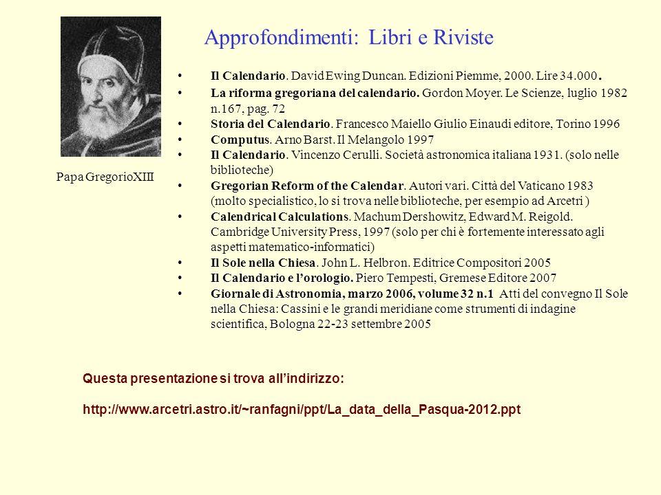 Riforma Calendario Gregoriano.La Data Della Pasqua Conferenza Al Planetario Di Firenze 5