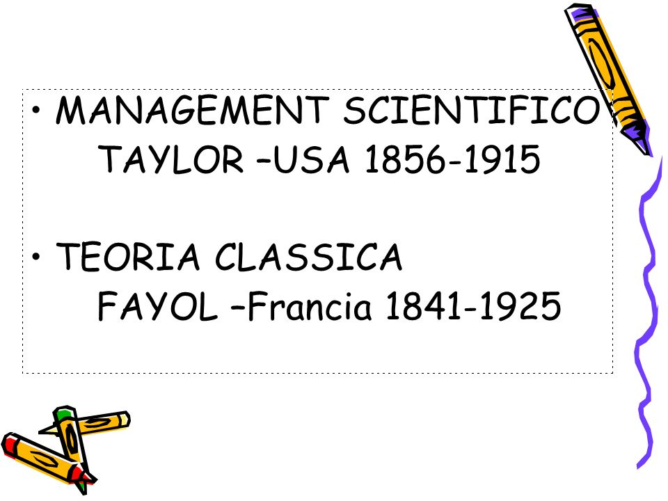 MANAGEMENT SCIENTIFICO