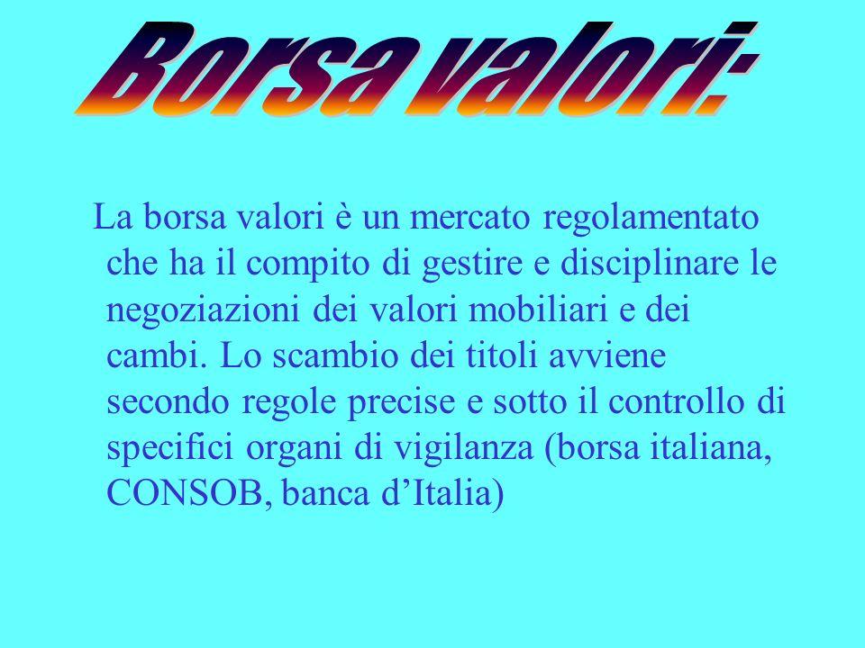 3a8c3bde63 Il Mercato Finanziario - ppt scaricare