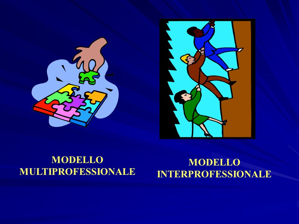 MODELLO MULTIPROFESSIONALE MODELLO INTERPROFESSIONALE