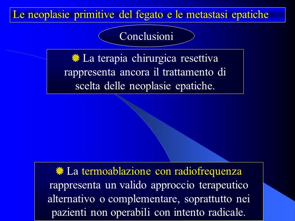 Le Neoplasie Primitive Del Fegato E Le Metastasi Epatiche
