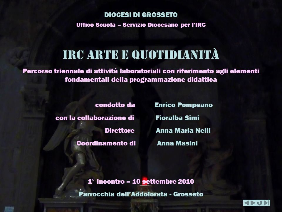 Irc arte e quotidianitÀ