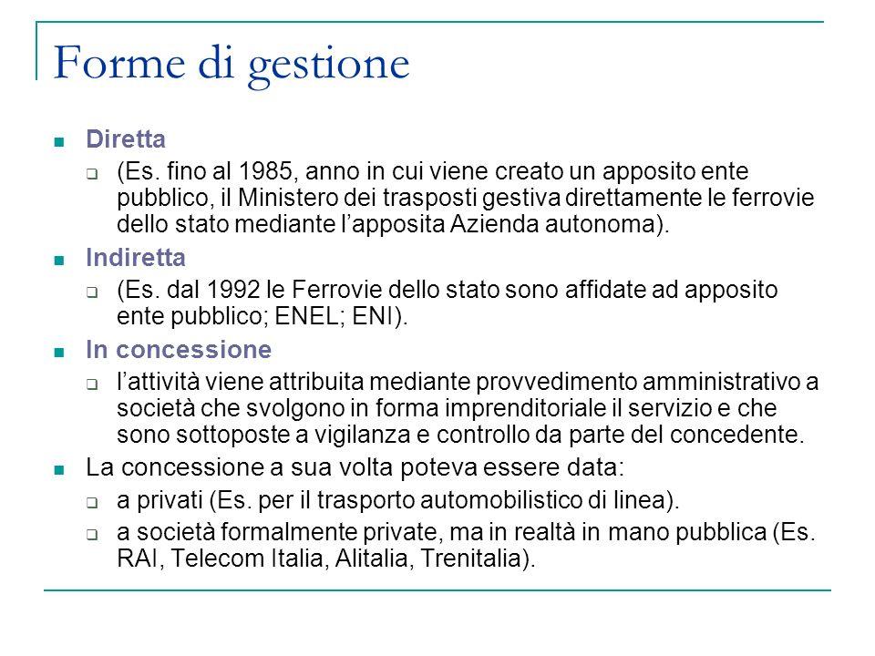 La Disciplina Normativa Dei Servizi Pubblici Cenni Storici Ppt Scaricare