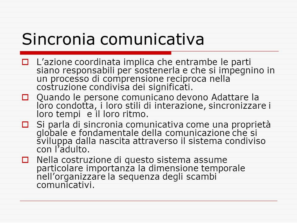 Sincronia comunicativa